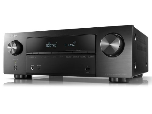 AV Ресиверы Denon AVR-X550BT Black